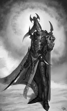 Dark Eldar archon by raigami