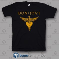 Welcome to Bonestudio, home of the funniest and popular tee's online.Logo Bon Jovi Band T Shirt is your new tee will be a Bon Jovi, Band Tees, Unisex, T Shirts For Women, Sweatshirts, Free Shipping, Band T Shirts, Sweatshirt, Hoodies