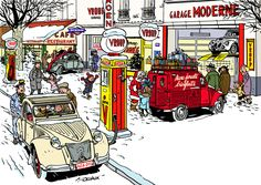 """jean-luc delvaux for french magazine """"2CV"""""""