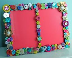 Funky Button frame