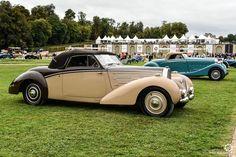 Bugatti Type 57C Aravis à Chantilly Arts et Elegance #MoteuràSouvenirs Reportage…