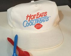 hat w/ old slogan from dairy queen