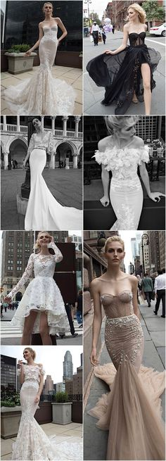 a gorgeous collection of Inbal Dror wedding dresses
