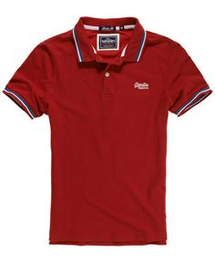 Superdry Tri Tipped Pique Polo