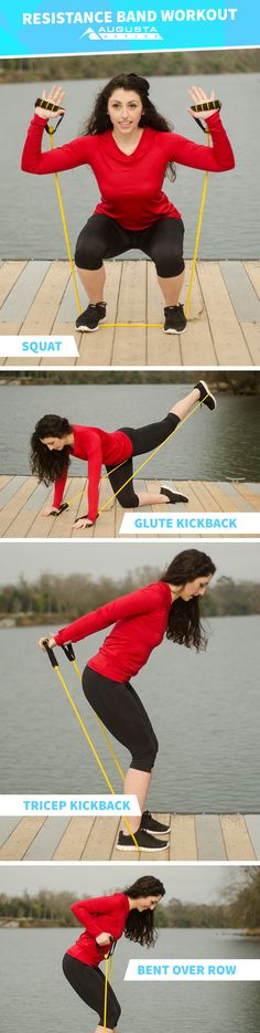Resistance Band Workout | Posted by: NewHowtoLoseBellyFat.com