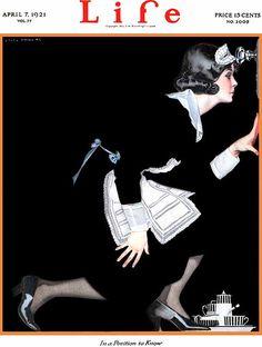 Vintage et cancrelats: Coles Phillips (1880 - 1927) Fade Away Girl                                                                                                                                                                                 More