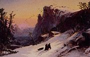 "New artwork for sale! - "" Winter In Switzerland by Jasper Francis Cropsey "" - http://ift.tt/2qoPwN9"