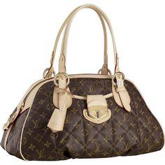 Fashion Style,Louis Vuitton Monogram Canvas Bowling Monogram Etoil M41434 Aaz-246
