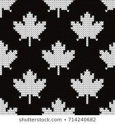 Leaf Knitting Pattern, Knitting Charts, Knitting Patterns, Crochet Patterns, Tejido Fair Isle, Punto Fair Isle, Tapestry Crochet, Knit Crochet, Graph Design
