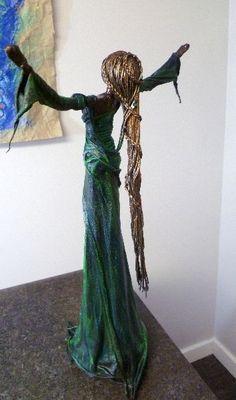 Image result for paper sculptures angels tutorials