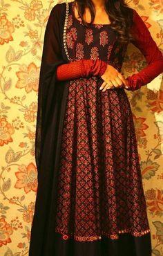 Kurta Designs Women, Salwar Designs, Blouse Designs, Indian Attire, Indian Ethnic Wear, Ethnic Fashion, Indian Fashion, Indian Dresses, Indian Outfits