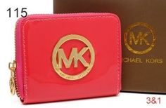 Michael Kors Bag Of Wallets Square Patent Gold Hardware With Rosy