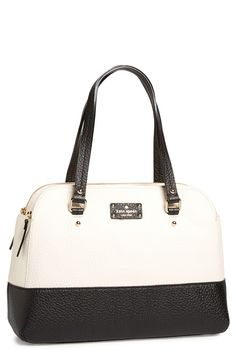 Black and White Kate Spade Tote