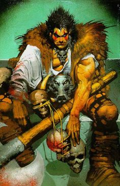 Slaine by Simon Bisley