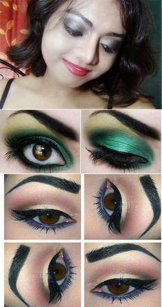 Smokey eye makeup tutorial for brown eyes|Black smokey eye makeup tutorial|Easy smokey eye makeup tutorial|Brown smokey eye makeup tutorial| Smokey Eye Makeup Tips
