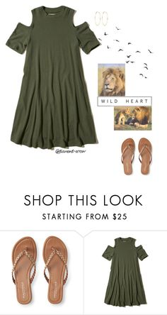 """""""W I L D  H E A R T"""" by diamond-arrow ❤ liked on Polyvore featuring Aéropostale, Hollister Co. and River Island"""