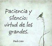 Dame señor paciencia … amén