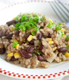 Fried Rice, Kidney Beans & Corn #recipe