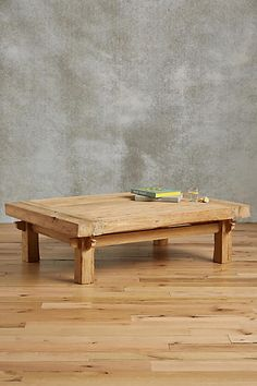 Wide Plank Coffee Table - anthropologie.com