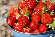 Strawberries for breakfast