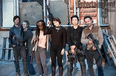 AWWWW look at Daryl and Carol!!!! They are adorable. And damn Glenn, lookin' good boy