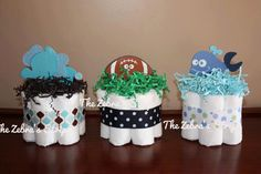 Mini+Diaper+CakeBoy+Girl+or+Neutral+by+TheZebrasStripe+on+Etsy,+$9.00