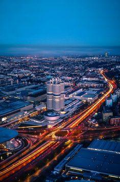 Munich by dusk