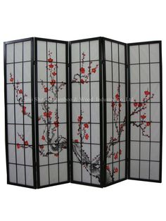 Small Chinese Room Dividers...want to have these as closet doors!