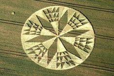 Sacred geometry in crop circles in UK - Strange Sounds