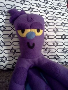 Picture of How to make a Mr.Octi plush from the Powerpuff Girls
