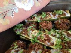 Töltött cukkini & gomba | Gyöngy Harmony Stúdió Tacos, Mexican, Ethnic Recipes, Food, Meal, Essen, Hoods, Meals, Mexicans