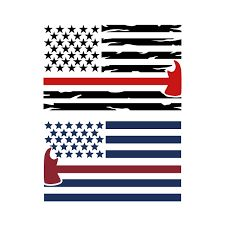 Firefighter US Flag Cuttable Design Cut File. Vinyl Crafts, Vinyl Projects, Cnc Projects, Embroidery Designs, Firefighter Gifts, Firefighter Clipart, Flag Painting, Silhouette Cameo Projects, Silhouette Fonts