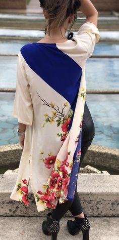 #kimono #moda con mucho #estilo #outfits #casual Bell Sleeves, Bell Sleeve Top, Casual, Outfits, Dresses, Women, Fashion, Kimonos, Unique Clothing