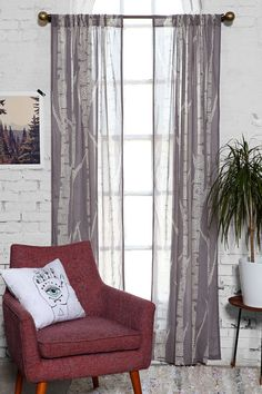 Assembly Home Birch Trees Curtain http://www.urbanoutfitters.com/urban/catalog/productdetail.jsp?id=33026089&parentid=A_FURN_WINDOW#/ $39 per panel