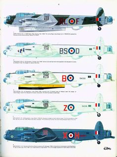 12 - Avro-Lancaster Page Ww2 Aircraft, Military Aircraft, Ala Delta, Air Force Bomber, British Aerospace, Lancaster Bomber, Aircraft Painting, Machine Guns, Ww2 Planes