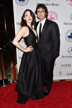 Kat Dennings and Josh Groban (Photo by Frazer Harrison/Getty Images)