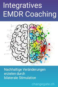 Was ist integratives EMDR Coaching? Diese Form des Coachings ist eine Synthese verschiedener Coachingmethoden zur beschleunigten Informationsverarbeitung und Stressreduktion. Das körperlich, geistige und seelische Wohlbefinden wird positiv beeinflusst. Ziele können aufgrund der andersartigen neuronalen Verarbeitung effizienter erreicht werden. Für wen ist integratives EMDR Coaching? Für jeden, der ganz konkrete Veränderungen erzielen,   und seine Ziele schneller und leichter erreichen… Coaching, Stress, Form, Workshop, Management, Change, Workplace, Feel Better, Training