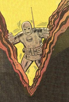 Don Heck  Iron Man#1 A real birth..
