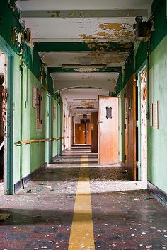 Abandoned State Hospital by AeroFennec, via Flickr