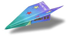 This simple glider pattern makes the BEST paper airplane Class Projects, Projects For Kids, Crafts For Kids, Glider Paper Airplane, Homeschool Coop, Math Night, School Fun, School Ideas, Business For Kids