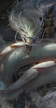 What darkness can truly do to these dragons is make them the monster humans label them as. It's not them they see but the fear they have to show. Dark Fantasy Art, Fantasy Artwork, Beast, Dragon Artwork, Dragon Pictures, Fantasy Dragon, Creature Concept, Chinese Dragon, Mythological Creatures