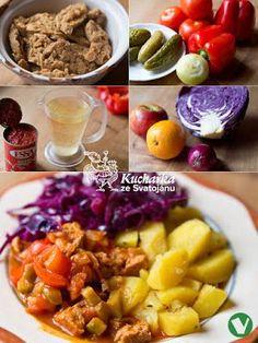 SOJOVÉ MASO SE ZELÍM Kuchařka ze Svatojánu: Hlavní jídla