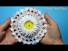 Мастер класс по вязанию мотива крючком. Crochet DIY