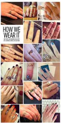 catbird rings: How We Wear It!