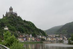 Pretty Cochem Germany located along the Moselle River - Check out our post to read about our time along the Mosel