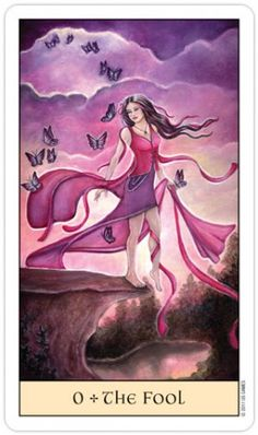 Crystal Visions Tarot - I am the fool that lost and learnt. In that experience I found something I had never known before and someone I had not seen in a long time. I found the sunshine and roses in me :)