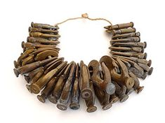 "Sofia Bjorkman ""natural born jewellery"" (jewelry with nails)"