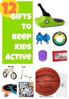 12 Gifts to Keep Kids Active - Kids Activities Blog