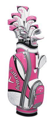 Callaway - Women's Solaire Gems 13-Piece Complete Set http://www.golfdiscount.com/callaway-womens-solaire-gems-13-piece-set?v=Pink