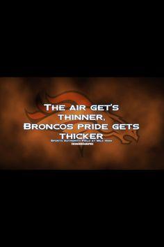 Denver Broncos courtesy of Theo Harris